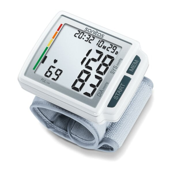 SBC 41 - Wrist blood pressure monitor With extra-large display