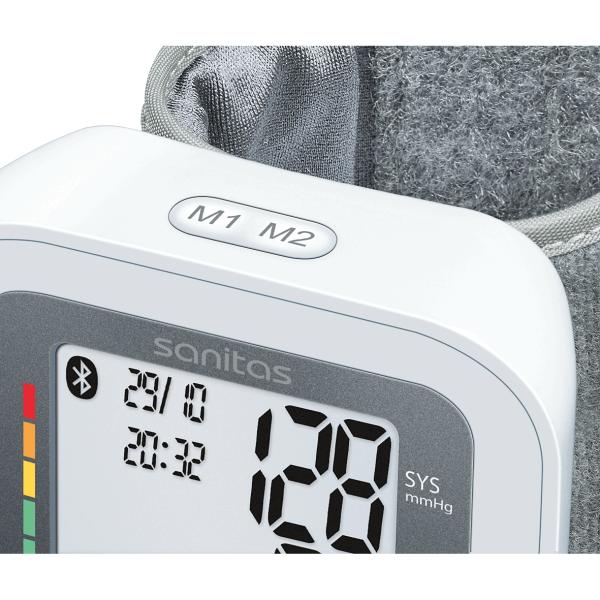 SBC 53 Bluetooth® - Tensiomètre Avec une application pour la surveillance des valeurs de tension artérielle